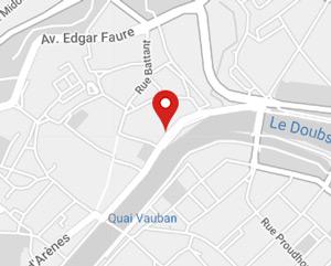 Carte Google Map HFZ Assurances